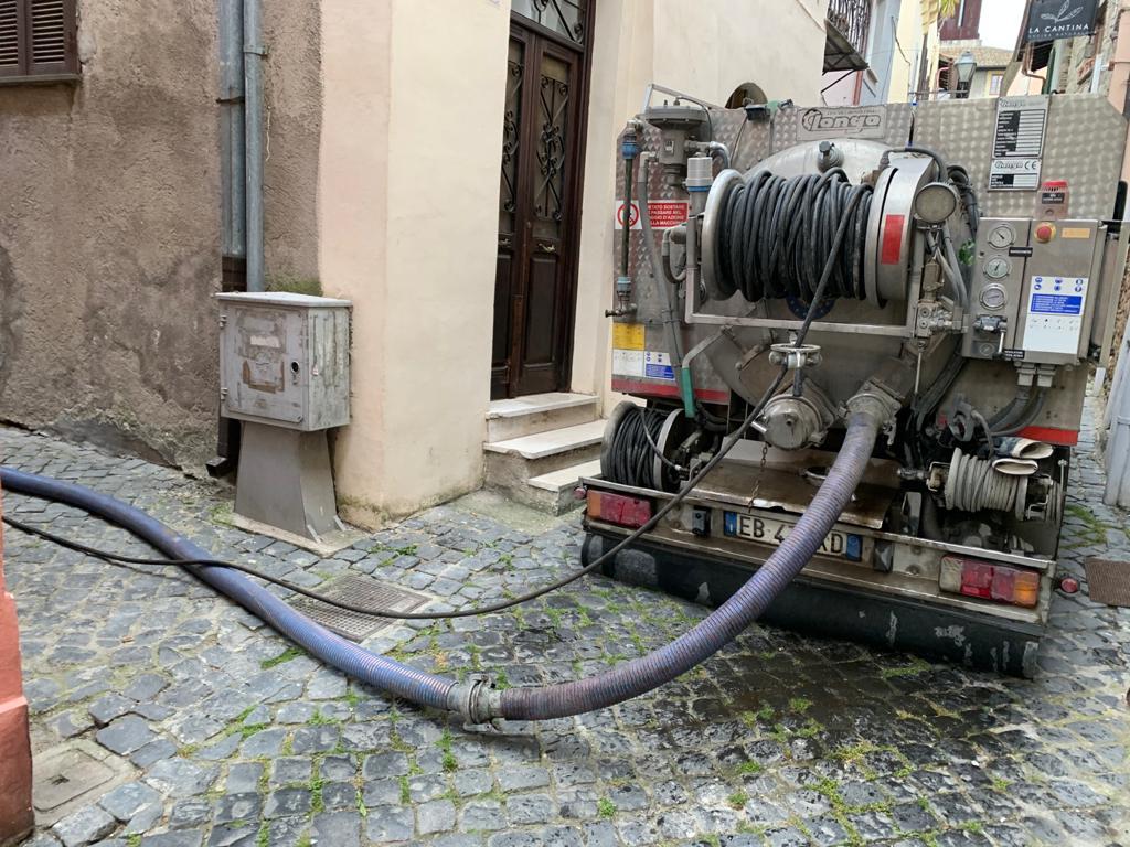 Escavatore a Risucchio Roma